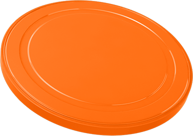 Infant Milk Powder Can Cover 1585C orange