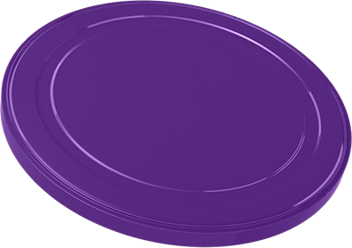 Infant Milk Powder Can Cover 268C purple