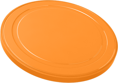 Infant Milk Powder Can Cover 715C orange